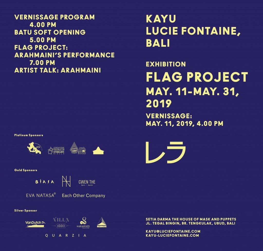 Invitation FlagProject at KayuLF